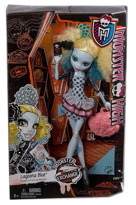 monster high exchange program lagoona blue doll