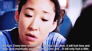 sandra oh on Tu... Cristina Yang Cookie Quotes