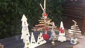 Décoration De Noel à Fabriquer En Bois : sapins en bois flott s et en palettes ~ Voncanada.com Idées de Décoration