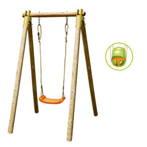 siege balancoire adulte portique évolutif 1 personne avec siège bébé inclus