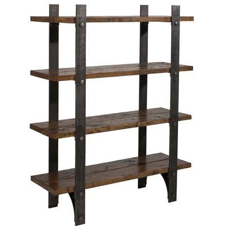 Iron Bookcases by Wrought Iron Retreat Bookcase By Charleston Forge