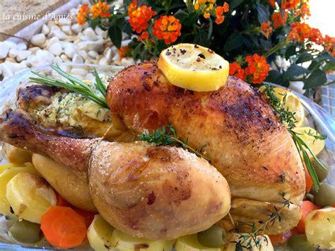 poulet cuisine poulet rôti au citron blogs de cuisine