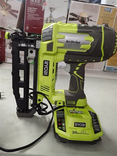 Ryobi 18volt One+ Airstrike 16gauge Cordless Straight Nailer (toolonly)  New Year Plumbing