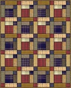 Scots Plaid Quilt Pattern
