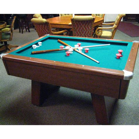 bumper pool table for sale slate bumper pool table
