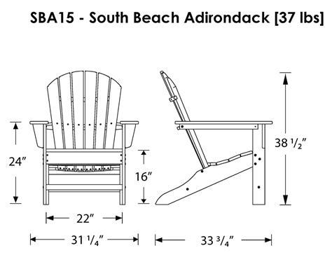 polywood south adirondack chair adirondack chairs