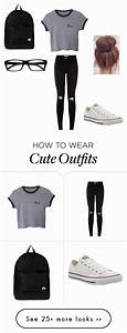 25+ best ideas about High School Outfits on Pinterest | School outfits college Jeans converse ...