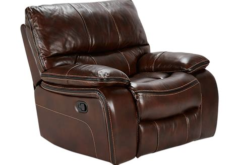 leather glider recliner with cindy crawford home gianna brown leather glider recliner