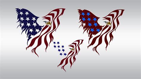 American Flag Eagle Svg  – 214+ SVG Cut File