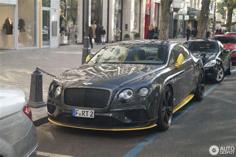 Bentley Continental Gt Speed Black Edition 2016