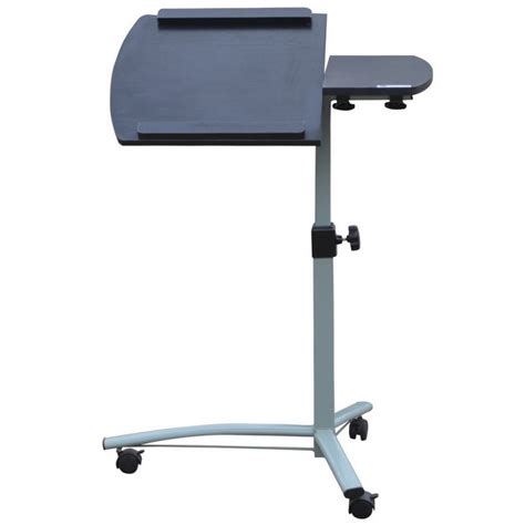 portable computer desk on wheels homegear portable rolling laptop desk stand on