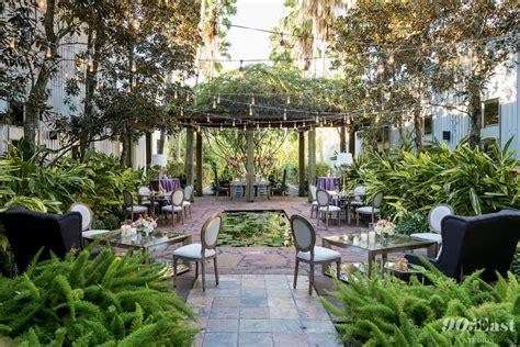 fifty  twenty  garden wedding wedding receptions