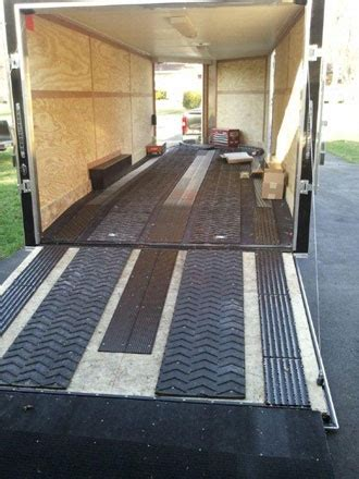 Please leave 1/4in space on edges for expansion and contraction. 8 Photos Snowmobile Trailer Floor Protection And Review ...