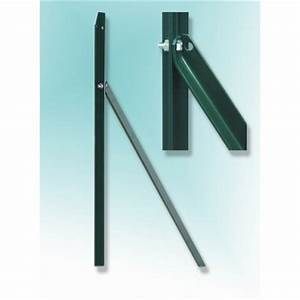 Piquet De Cloture Fer : piquet t en fer plastifi couleur vert hauteur 1 50 m ~ Dailycaller-alerts.com Idées de Décoration