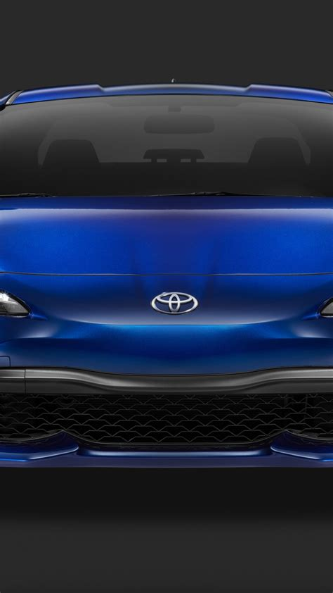 wallpaper toyota  nyias  blue cars bikes