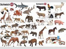 SCHLEICH ANIMALS HORSES TIGERS ALLIGTATOR GIRAFFE FARM