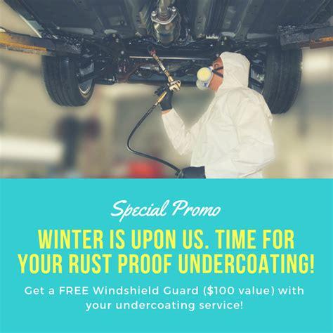 rust proofing promo