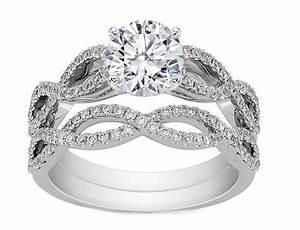 engagement ring infinity bridal set engagement ring With infinity engagement ring and wedding band