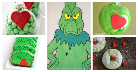 grinch crafts sweet treats