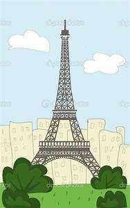 Eiffel Tower Cartoon | My home | Pinterest | Cartoon ...