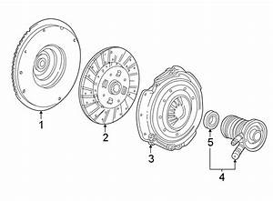 Ford Ranger Clutch Flywheel  Manual Trans  2 3 Liter