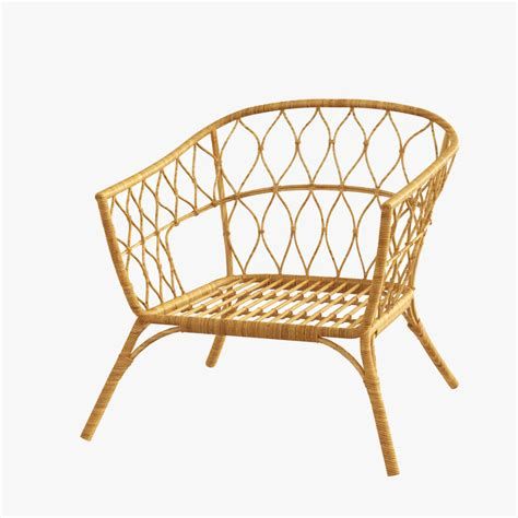 Ikea Rattan Stuhl rattan chair ikea stockholm model turbosquid 1193358