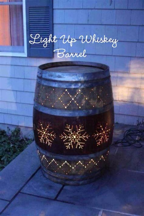 diy ideas    barrels