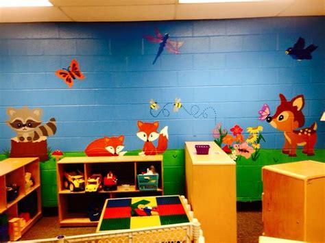 wall mural we painted on our classroom wall preschool 872 | b099288d46e7f88df5067add562f650b classroom walls preschool classroom