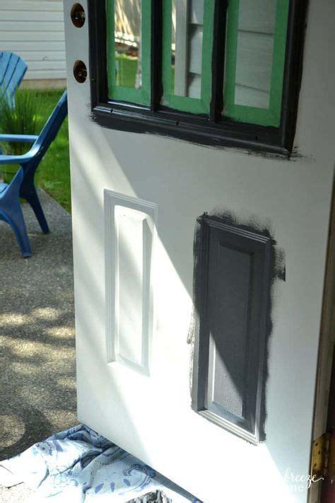paint metal doors  plastic trim painting