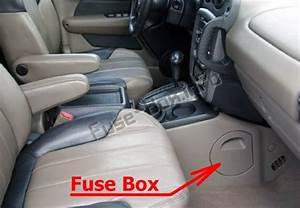 Fuse Box Diagram Pontiac Aztek  2000