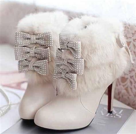 White Winter Wedding Boots Babygirls Style Mix Pinterest
