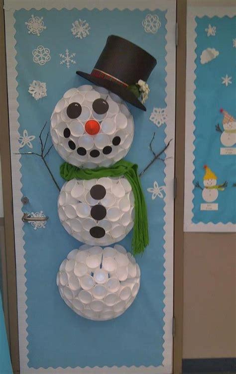 snowman door decorations this winter door decoration is beautiful it was shared
