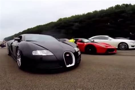 Laferrari Demolishes Bugatti Veyron In Drag Race