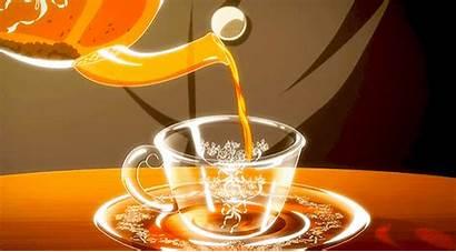 Aesthetic Anime Orange Tea Gfycat Warm
