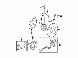 Gmc Acadia Abs Wheel Speed Sensor  Front   Suspension