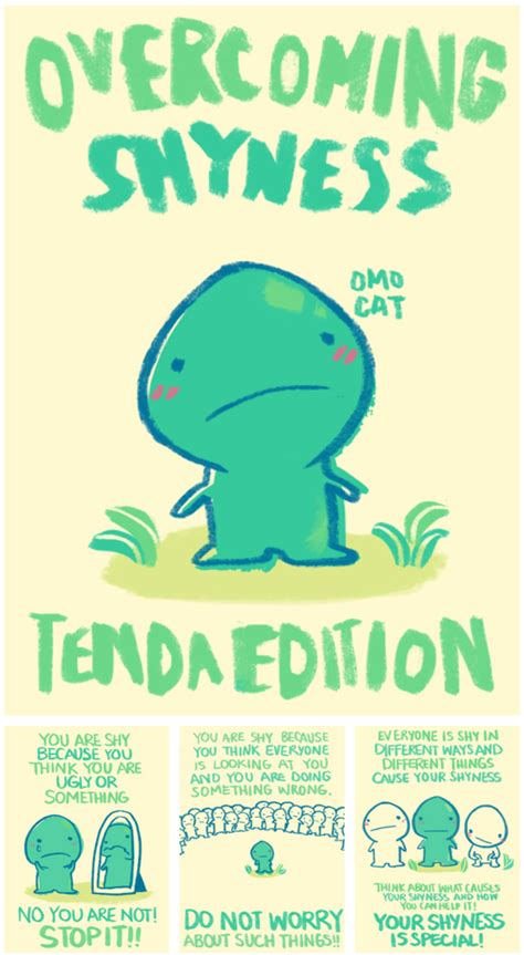 overcoming shyness tenda edition earthbound central