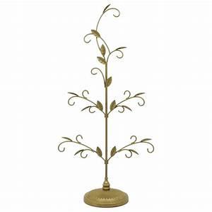 2016, Gold, Miniature, Ornament, Tree