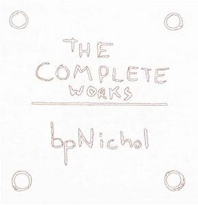 Browse the archives the official bpnichol archive for Poetry chapbook template