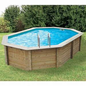 Piscine En Bois Prix : piscine bois octogonale sunwater 4 90 x 3 00 x h1 20m ubbink ~ Zukunftsfamilie.com Idées de Décoration