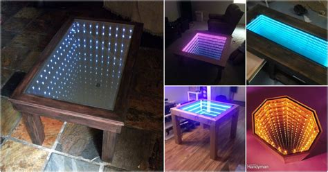 gorgeous diy infinity tables     build