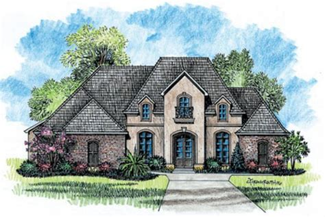 Best One Story French Country House Plans For Classic
