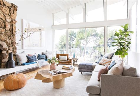 How To Add Style To A Neutral Living Room Get The Look