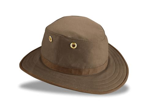 twc7 waxed cotton medium brim wash and pack outback hat by