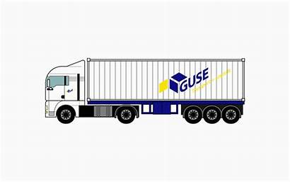 Trailer Container Kipp Chassis Equipment Guse Transport