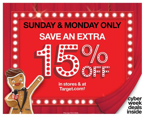 target announces  day cyber stores spectacular