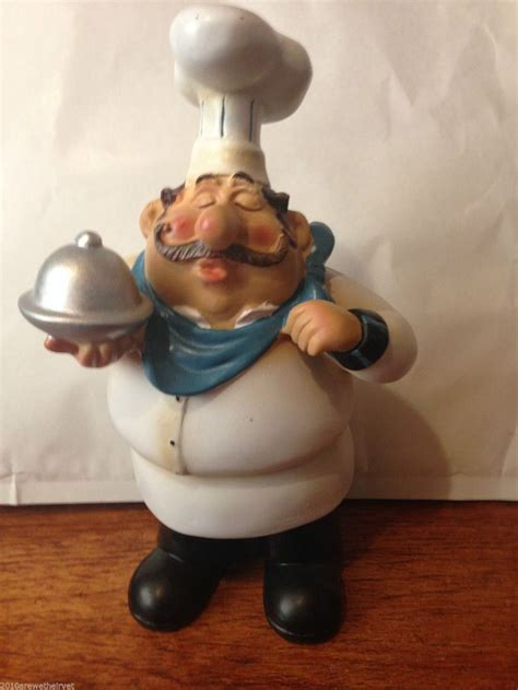novelty new fat chef le french bistro silver plater