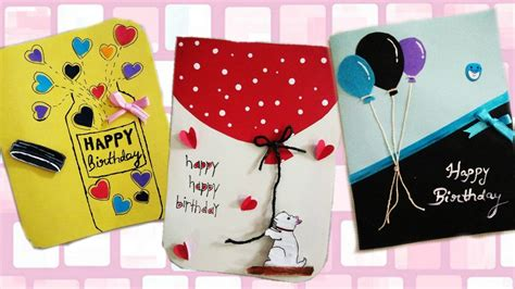 Send free wishes, messages, quotes & greetings cards for friends and family on special occasions like birthdays, anniversary, love, weddings etc and much more. DIY: how to make simple and easy birthday greeting cards - YouTube