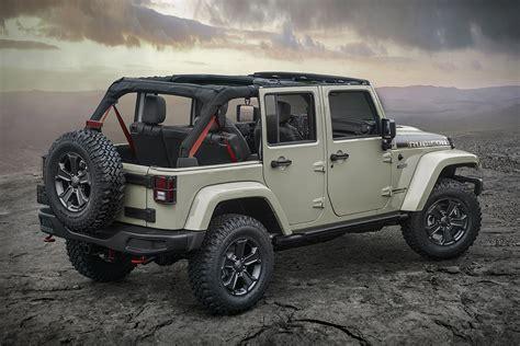 jeep rubicon 2017 2 door 2017 jeep wrangler rubicon recon hiconsumption