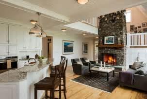 kitchen livingroom open living room kitchen floor plans