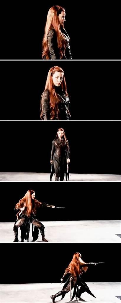 Tauriel Hobbit Movies Forest Daughter Warrior Elf